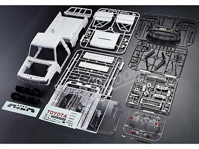 Killer Body 1/10 Toyota Land Cruiser 70 ABS Hard Body Set Kit #KB48601