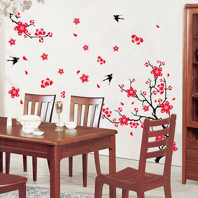 Removable Flower Vinyl Art Wall Sticker Mural Home Decal Bedroom Decor Room