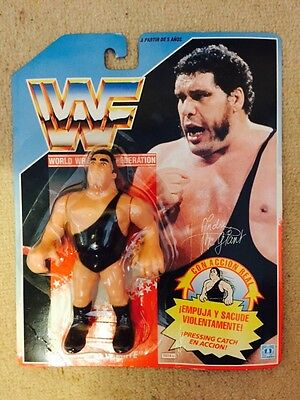 WWF WWE Hasbro Andre The Giant New In Blister Figure