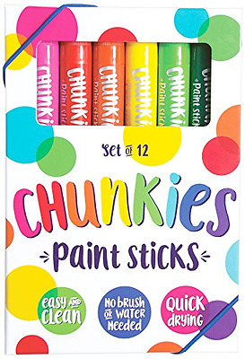 International Arrivals is newly OOLY Chunkies Paint Sticks, Set of 12 (126-004)