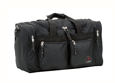 Rockland PTB419 Luggage Tote Bag, Black, One Size, 19-Inch