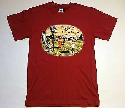 Genesis - Turn It On Again 2007 Official T-Shirt - Size S - Back Printing
