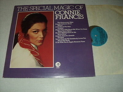 Connie Francis 33 Tours Lp Uk The Special Magic Of