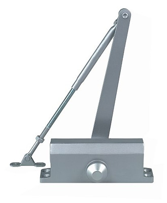 Global Door Controls TC302-PA-AL Light Commercial Door Closer Size 2 Spring, Par