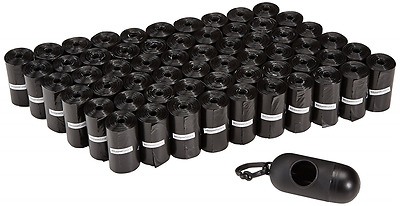 AmazonBasics Dog Waste Bags with Dispenser and Leash Clip - 900-Count