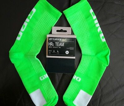 new green performance cycling socks size 6-12 uk seller  free postage