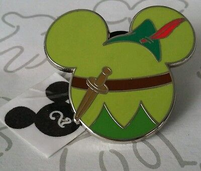 Peter Pan Mickey Mouse Character Icon Hat Mystery Disney Pin Buy 2 Save $