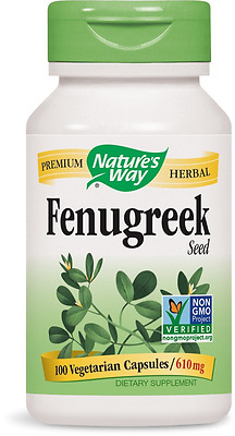 Nature's Way Fenugreek Seed 100 Count