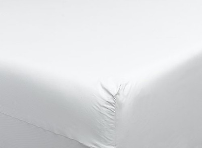 DMI Zippered Plastic Mattress Cover Protector, Waterproof, Full Size, White