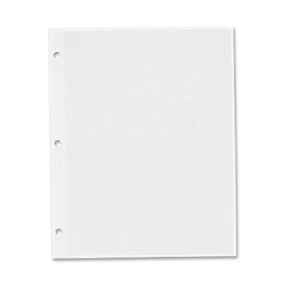C-Line 85050 Redi-mount photo sheets, 3-hole punched, 11 x 9, 50 sheets Per box