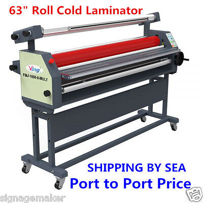 "Ving 63"" Full - auto Large Format Master Mounting Roll Cold Laminator - SEA SIHP"