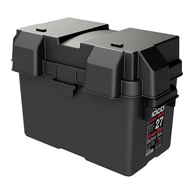 NOCO HM327BKS Group 27 Snap-Top Battery Box for Automotive, Marine and RV Batter