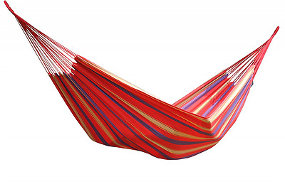 Vivere Double Brazilian Style Regal Red Hammock