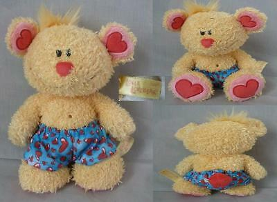 Peluche Diddl Ours Doudou LOLLI LOVEBEAR TRES RARE TBE 20cm
