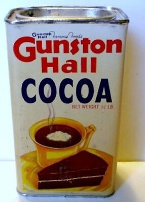 Gunston Hall  Cocoa Tin Full  1/2 lb.Va.