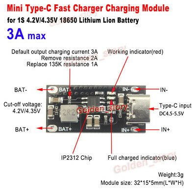 DC-DC Step up 3.3V 3.7V 4.2V To 5V 9V 12V Constant Voltage Current Charger Board