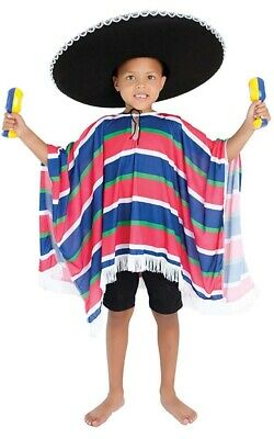 M4-4 Boys Traditional Mariachi Mexican Spanish Carnival Book Week Costume