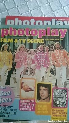 Photoplay magazine rare mag 1978 The Bee Gees Warren Beatty Kojak Sam Elliot