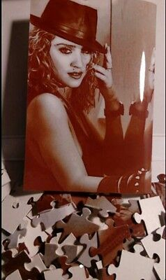 MADONNA puzzle 1985 very rare LIKE A VIRGIN session + DVD ALL REGIONS BOOTLEG