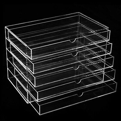 kosmetik organizer make up acryl aufbewahrung kosmetikbox schubladen box display eur 14 95. Black Bedroom Furniture Sets. Home Design Ideas