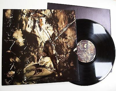 FIELDS OF THE NEPHILIM - ELIZIUM LP VINYL VG+/NR MINT Rare UK 1st Press Goth