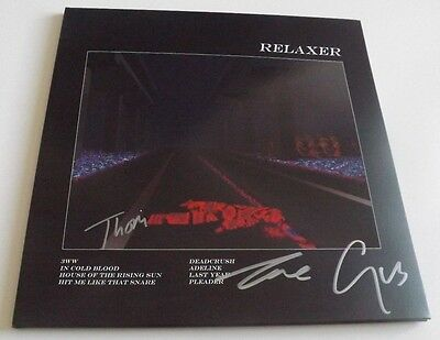 Alt-J Relaxer Signed Vinyl Lp + Download