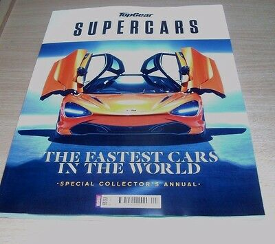 BBC Top Gear SuperCars magazine Special Collector's Annual 2017/18 Fastest Cars