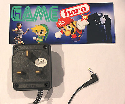 Nintendo Gameboy Color Pocket Uk Ac Mains Adapter Power Supply Charger Game Boy