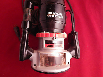 Craftsman Super Router 315.17400 and Edge Guide (only) from Sears 9 25173