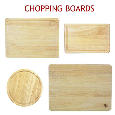 Cutting Board Wooden Chopping Boards Meat Serve Round Mat Slicing Bread Butcher