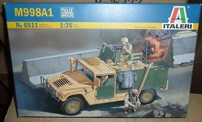 6511 US M998A1  ITALERI 1:35 plastic model kit