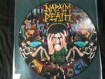 Napalm Death - From Enslavement To Obliteration LP UK 1990 EX # Thrash/Grindcore
