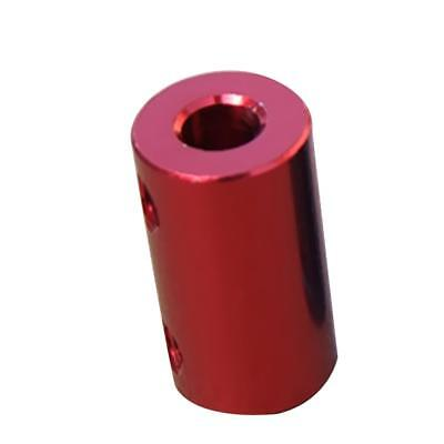 3-5mm Rigid Flexible Shaft Coupler Motor Connector Set Aluminum Alloy Red