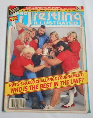 Pro Wrestling Illustrated Magazine Michael Hayes Terry Gordy Feb 1987