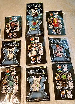 Disney-Vinylmation-'Park-5'-Set-of-10-pins shown in Main Photo • $70.00