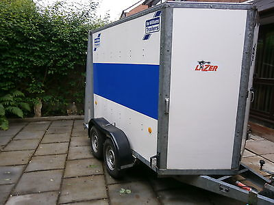 Box Trailer  Tow A Van / Car Trailer   Braked Twin Axle/ Ifor Williams