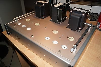 KT88 / 6550 HiFi Valve amp Chassis Power and Output transformers - DIY - Project