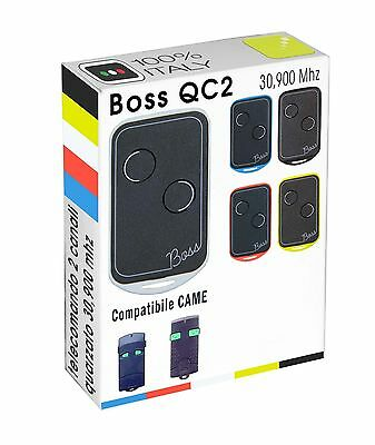 Telecomando radiocomando BOSS compatibile CAME TOP 302 - 302M tasti verdi