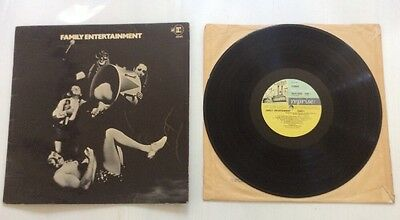 "12"" Vinyl LP 33rpm Family - Family Entertainment A2/B2"