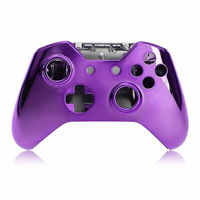 Purple Case Shell Cover Skin for Microsoft XBOX One Controller BF