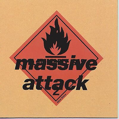 MASSIVE ATTACK ~ BLUE LINES ~ 180gsm VINYL LP ~ *NEW AND SEALED*