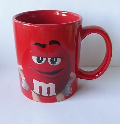 M&M TASSE RED, Becher, MARS, NEU