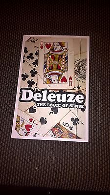 The Logic of Sense by Gilles Deleuze (Paperback, 2004)