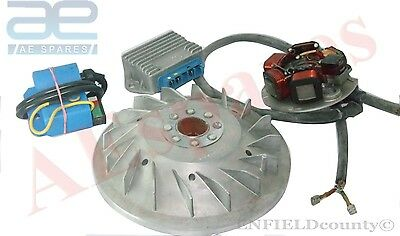 VESPA ELECTRONIC IGNITION FLYWHEEL STATOR KIT 12v 20mm CONE  PK125 XL @AEs