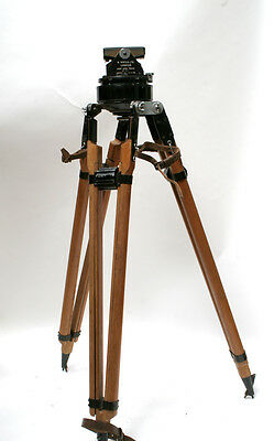 Used Vinten Light Gyroscopic Tripod With Case