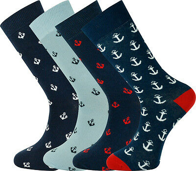 Mysocks Ankle Socks Anchor Design