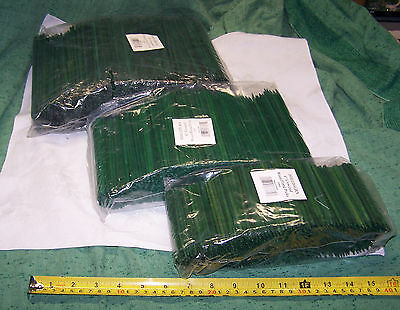 """500 Wood Picks Green Unwired New Florist Craft Floral Design 4"""" 6"""" or 8"""" Choice"""