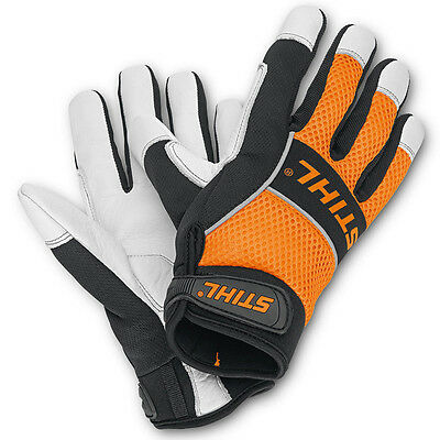 Stihl Large Ergo Forestry Protective Safety Gloves 0088 611 0211 Rrp £20