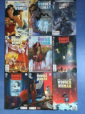 The Legend of Wonder Woman Issues 1 to 9