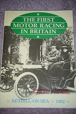 Motor Racing Bexhill On Sea 1902 John Rose S F Edge Leon Serpollet Jarrott Mors